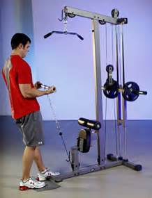 xmark lat pulldown and low row cable machine xm 7618