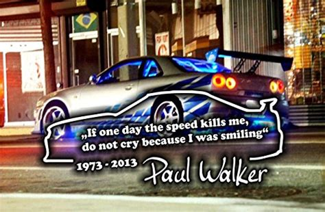 Paul Walker Zitat Aufkleber by 5 45 Paul Walkers Zitat Tuning 20x 8cm