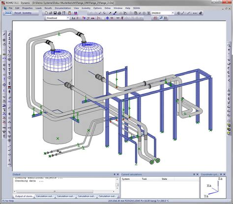 piping diagram software rohr2 pipestress analysis software rohr2 pipe stress