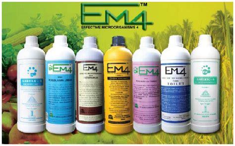Pupuk Cair Em4 inilah manfaat em 4 terhadap kesuburan tanah dan tanaman