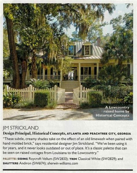 southern living roycroft and exterior paint on