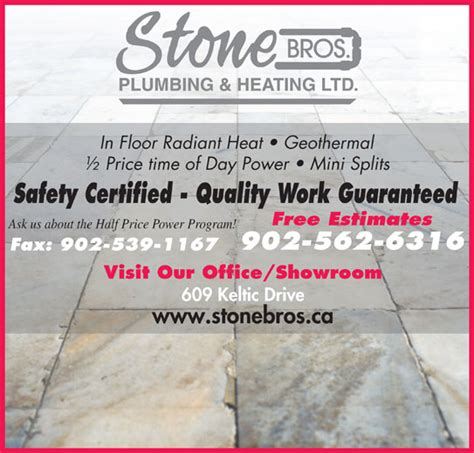 Brothers Plumbing And Heating by Brothers Plumbing Heating Ltd Sydney Ns 609
