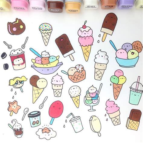 Dessert Doodles Hobbies Journaling Scrapbooking