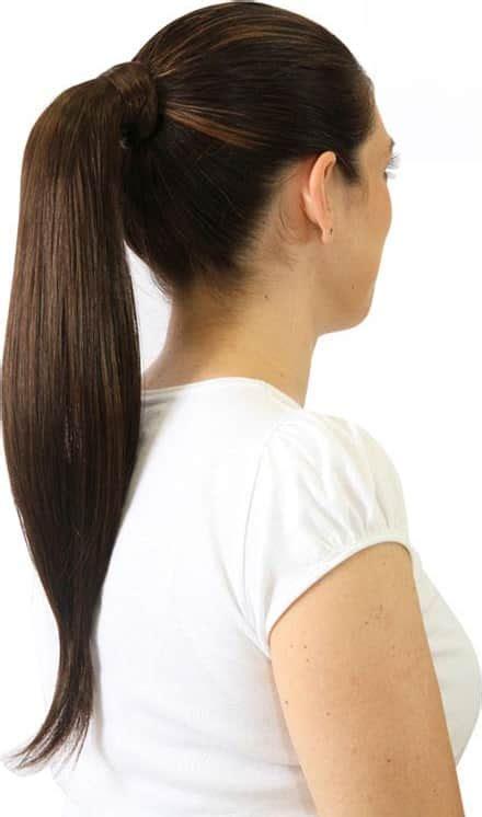 apliques hairdo aplique hairdo chocolate mechas rabo 46cm beleza na web
