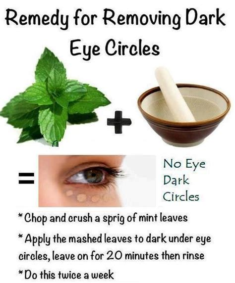 treatment home remedies to cure circles