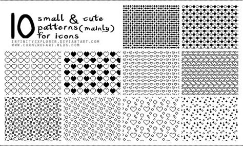cute pattern passwords circlesdotshearts 10 small and cute patterns by