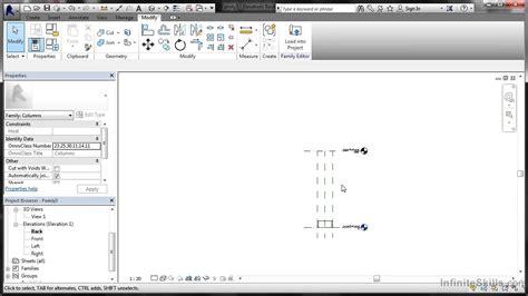 revit tutorial advanced advanced revit structure 2014 tutorial creating a family