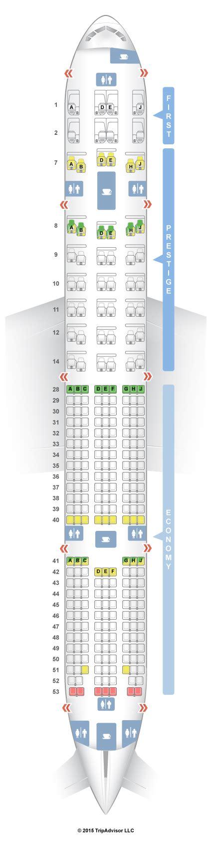 korean air seat seatguru seat map korean air boeing 777 300er 77w v1
