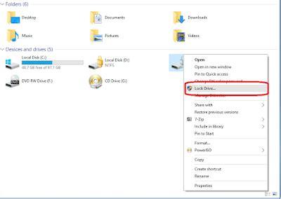 bitlocker tutorial windows 10 lock bitlocker drive without restarting windows 10