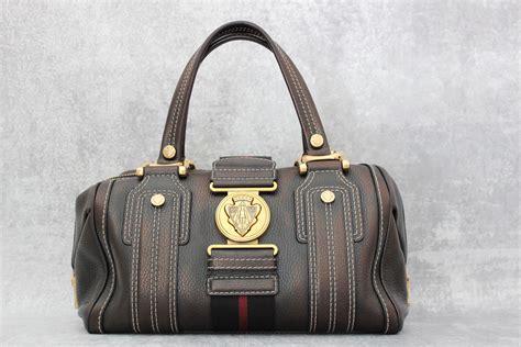 Gucci Boston Bag Bag Bliss by Gucci Metallic Leather Aviatrix Boston Bag At S