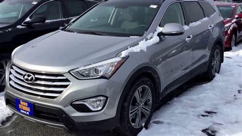 Rowe Hyundai by 2016 Hyundai Santa Fe Se Awd Third Row Rowe Hyundai
