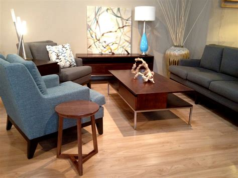 modern living room table walnut coffee table living room modern with accent tables