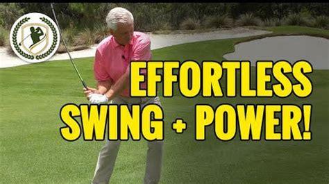 effortless power golf swing scratch golf academy google