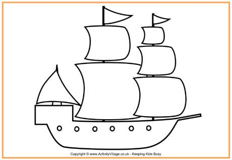 pilgrim village coloring page pilgrim ship colouring page thanksgiving colouring pages