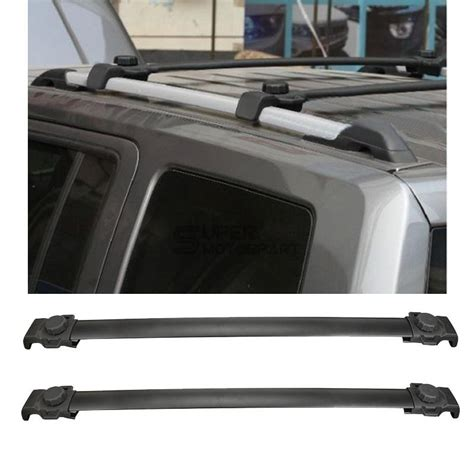 Jeep Roof Rack Cross Bars by 82210804 Fit For Jeep Patriot 2007 2015 Oe Style Black Roof Rack Cross Bars Ebay