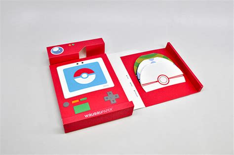 How To Make A Paper Pokedex - poke paper swatch book on behance