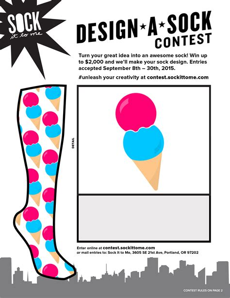 design sock contest dan cooke