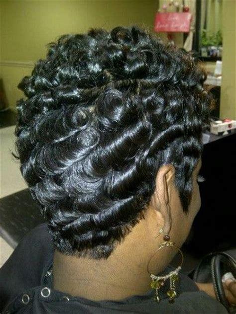 wave nouveau process love this photo nicole wiggins rocks it short hair don