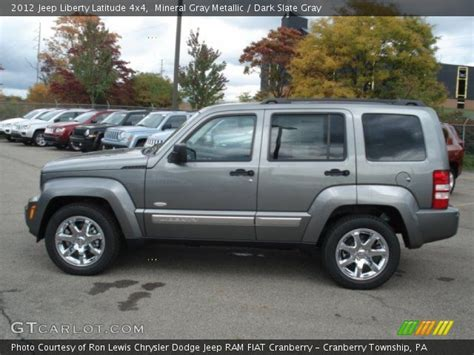 2012 Jeep Liberty Latitude Mineral Gray Metallic 2012 Jeep Liberty Latitude 4x4
