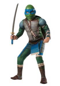turtle halloween costumes ninja turtle movie child deluxe leonardo costume