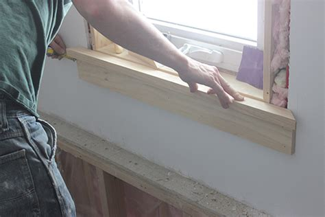 Pre Made Window Sills by How To Install Craftsman Style Window Trim School Of