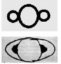 galileo saturn galileo drawings of saturn from 1610 and 1616