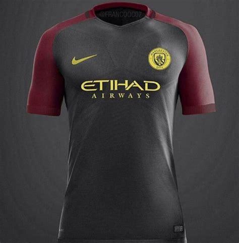 Kaos Manchester City Logo jersey manchester city away 2017 nike jual jersey