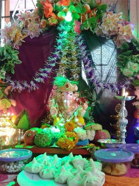 flower decoration ideas home ganesh chaturthi decoration ideas ganesh pooja decor