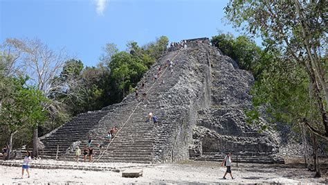 coba pyramid mexico my pictures from mexico 2014 pinterest cob 225 mayan ruins mexico in another minute 312