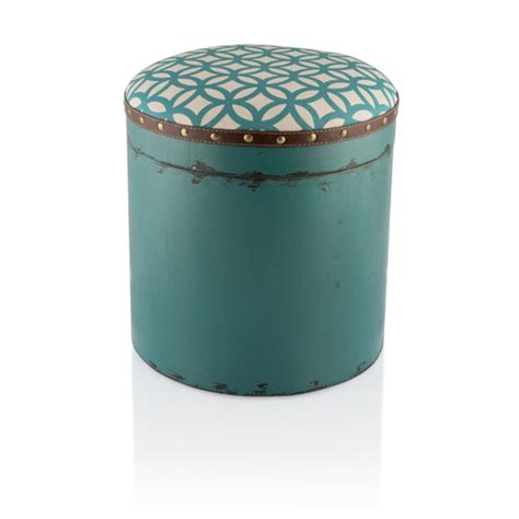 Padded Storage Stool by Boston Wooden Storage Stool With Padded Seat Temple