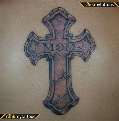cross with name tattoo 45 best images about on cross tattoos