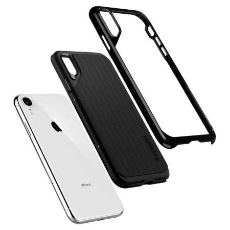 spigen neo hybrid iphone xr jet black