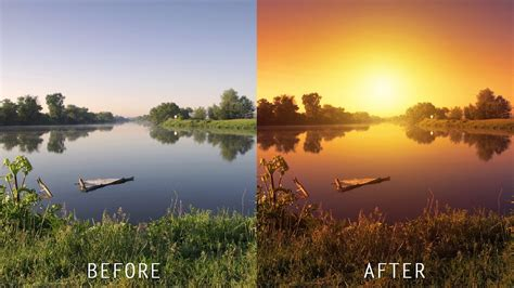 tutorial photoshop sunset how to create realistic sunset effect in photoshop turn