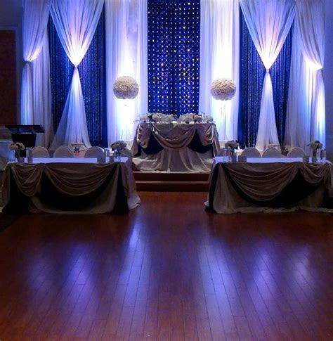 wedding decoration curtains 1000 ideas about elegant table on pinterest elegant