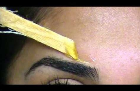tutorial wax hair how to wax your eyebrows tutorial makeup pinterest