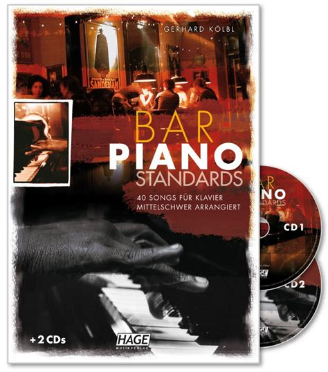 top 100 piano bar songs bar piano standards 40 songs f 252 r klavier mittelschwer arrangiert mit 2 cds amazon