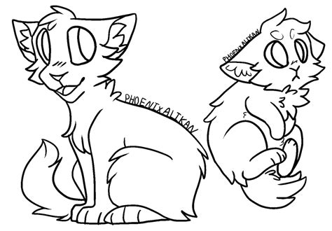 Cat L Base by Cat Lineart Favourites By Amaltheaarts On Deviantart