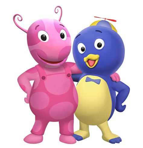 characters backyardigans large png s