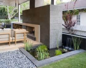 decorative fountain and waterfall designs for an original garden home designs project