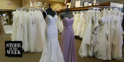 store of the week tie the knot bridal boutique in green