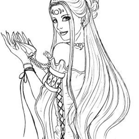 goddess of color the goddess of aphrodite coloring page play