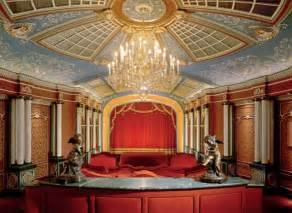 luxury home theater designs with exclusive decor ideas