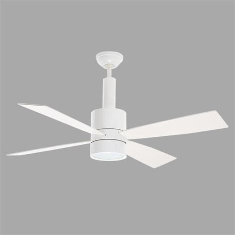bullet ceiling fan casablanca bullet 54 in indoor snow white ceiling fan with universal wall 59070 the