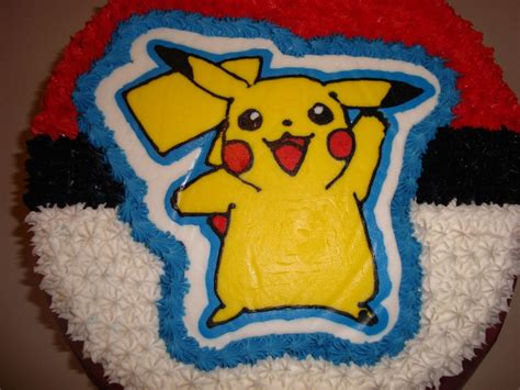 pokemon birthday cake cookies cakecentralcom
