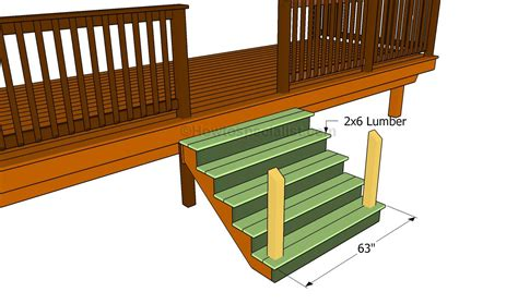 diy steps how to build porch stairs howtospecialist how to build step by step diy plans