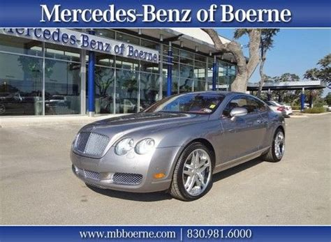 purchase used 2005 bentley gt coupe in boerne