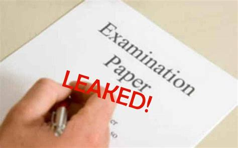 cbse boards paper leak cases      education today news