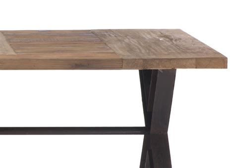 Dining Table Modern Legs Contemporary Trestle Legs Dining Table With Intricate Top