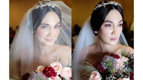 film misteri rias pengantin til menawan dalam balutan gaun pengantin luna maya
