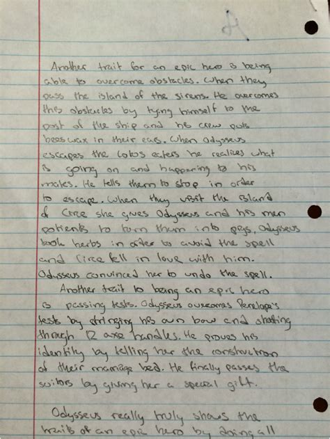 Odysseus Is A Essay by Academic Essay Gooch S Weebly